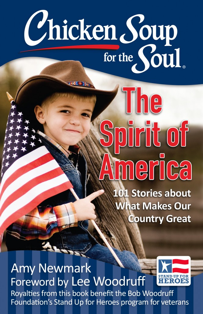 Spirit of America Cover Flag Boy