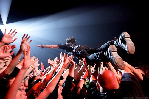 Go crowd surfing!