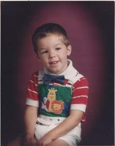 Andy 3 yrs old 9-14-93