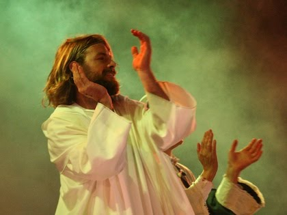 Jesus Applauding